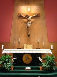 OLMC Altar